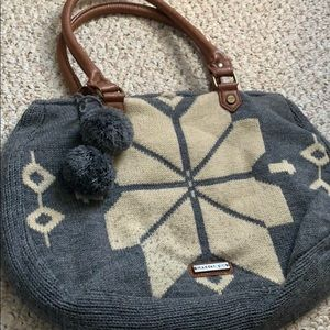 Madden Girl Knit Handbag